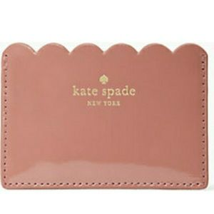 Kate Spade lily avenue patent leather card holder